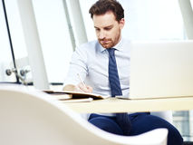 Business person working in office Stock Photos