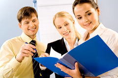 Business persons Stock Photography