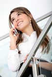 Business on the phone Royalty Free Stock Image