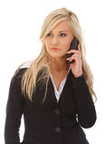 Business phone call Stock Photos