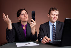 Business phone call Royalty Free Stock Image