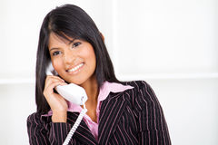Business phone call royalty free stock images