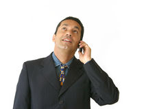 Business phone call - je Stock Photo