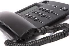 Business phone close up Royalty Free Stock Photography