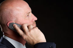Business Phone Man Stock Photography
