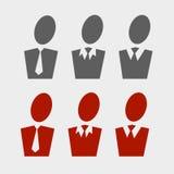 Business pictogram set Royalty Free Stock Photos