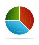 Business Pie Chart Royalty Free Stock Images