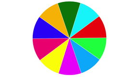 Business pie chart, animated Infographics circle stock video footage