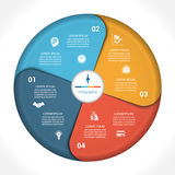 Business pie chart diagram data 4 Royalty Free Stock Photo