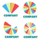 Business pie chart logo Stock Photo