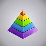 Business piramid 3 Royalty Free Stock Photos