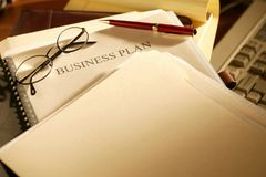 Business plan Stock Photography