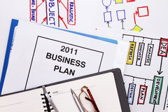 Business plan for 2011 Stock Images