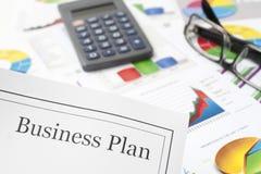 Business plan Fotografia Stock