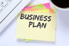Business plan analysis strategy success concept company desk Stock Photo