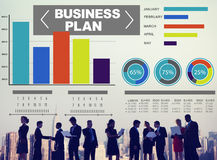 Business plan Bar Graph Data Development Information Concept Royalty Free Stock Photos