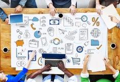 Business Plan Budget Target Tactics Ideas Concept Stock Images