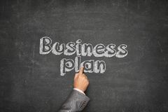 Business plan concept Stock Photo