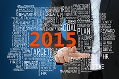 2015 Business Plan Concept Stock Image
