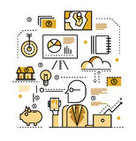 Business plan concept. Royalty Free Stock Photos