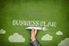 Business plan concept Stock Photography
