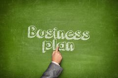 Business plan concept Royalty Free Stock Image