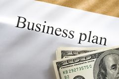 Business plan conception Stock Images