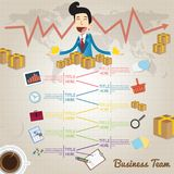Business Plan And Creative Team Stock Images