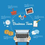 Business Plan And Creative Team Stock Photo
