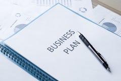 Business plan Royalty Free Stock Image