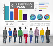 Business Plan Graph Brainstorming Strategy Idea Info Concept Royalty Free Stock Image