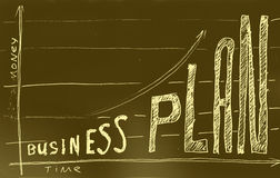 Business plan. Royalty Free Stock Images