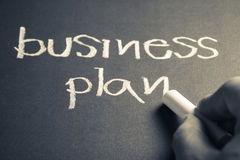 Business plan Royalty Free Stock Photography