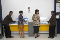 BUSINESS PLAN INDONESIANO DELLA BANCA DI MANDIRI Fotografia Stock Libera da Diritti