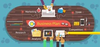 Business Plan Marketing Research Analysis Stock Photos