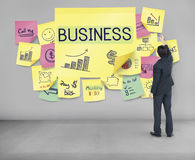 Business Plan Marketing Strategy Growth Success Concept Royalty Free Stock Photography