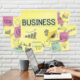 Business Plan Marketing Strategy Growth Success Concept. Plan Marketing Strategy Concept Royalty Free Stock Photo