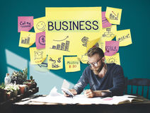 Business Plan Marketing Strategy Growth Success Concept. Business People Plan Marketing Strategy Growth Success Royalty Free Stock Photo