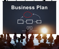 Business Plan Marketing Strategy Vision Planning Concept Stock Photo