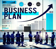Business Plan Planning Growth Success Analysis Concept Royalty Free Stock Image