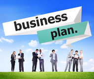 Business Plan Planning Strategy Conference Seminar Concept Royalty Free Stock Photos