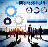 Business Plan Planning Strategy Development Objective Concept Stock Photo