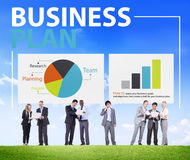 Business Plan Planning Strategy Meeting Conference Concept Royalty Free Stock Images