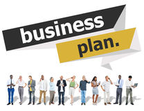Business Plan Planning Strategy Meeting Conference Seminar Conce Royalty Free Stock Images
