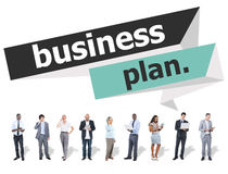 Business Plan Planning Strategy Meeting Conference Seminar Stock Image
