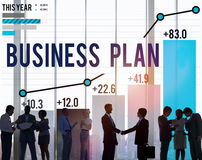 Business Plan Planning Strategy Success Objective Concept Royalty Free Stock Image