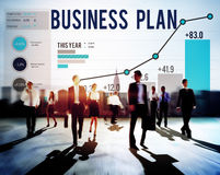 Business Plan Planning Strategy Success Objective Concept Stock Image