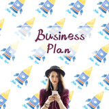 Business Plan Planning Strategy Vision Direction Concept Royalty Free Stock Photo