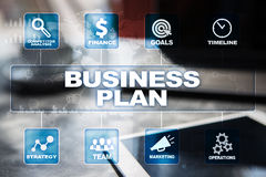 Business plan and strategy concept. Business concept Royalty Free Stock Image