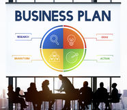 Business Plan Strategy Development Concept Stock Photos